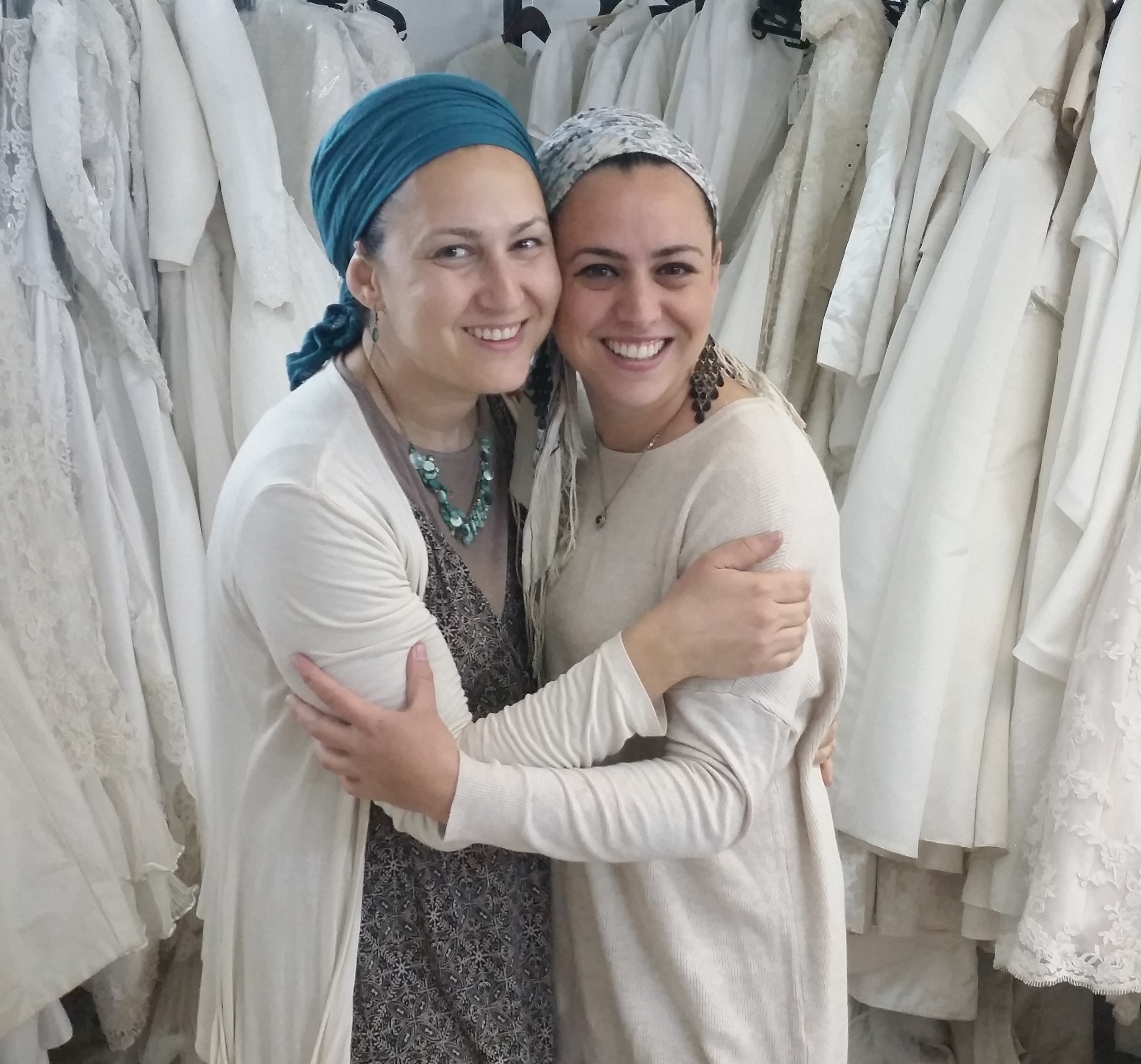 Sisterly Love in the Bridal Business