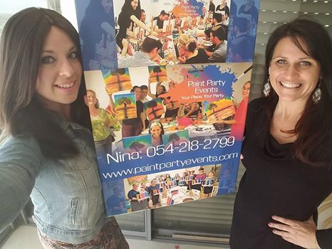 TOVAtalks with Nina Brenner of Paint Party Events