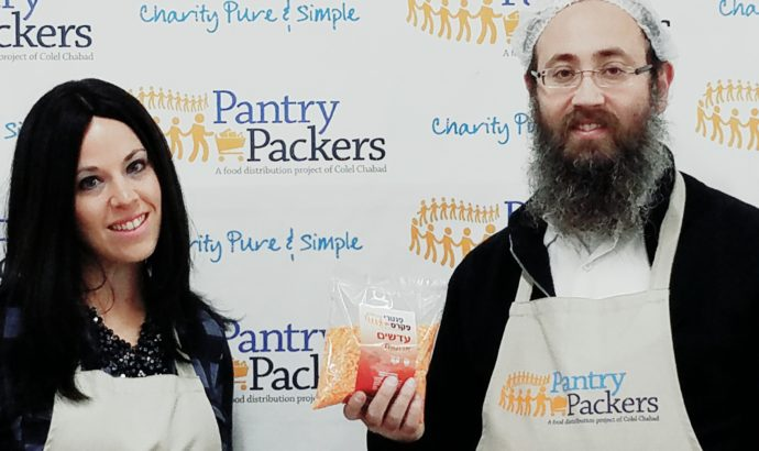 TOVAtalks with Menachem Traxler of Pantry Packers
